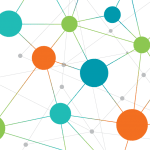 Graphic Of Dots And Lines Symbolizing Social Connections